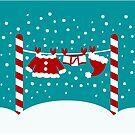 Santa Laundry by Sonia Pascual