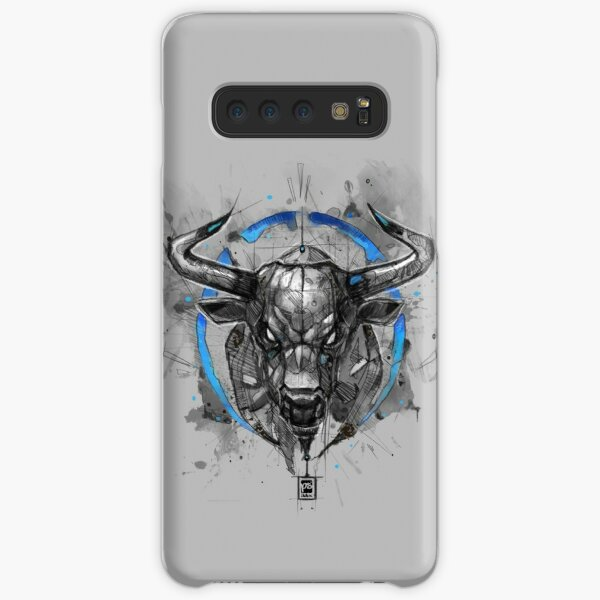 bull sketchy style drawing Samsung Galaxy Snap Case