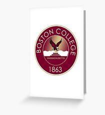 Boston College Eagles Greeting Card