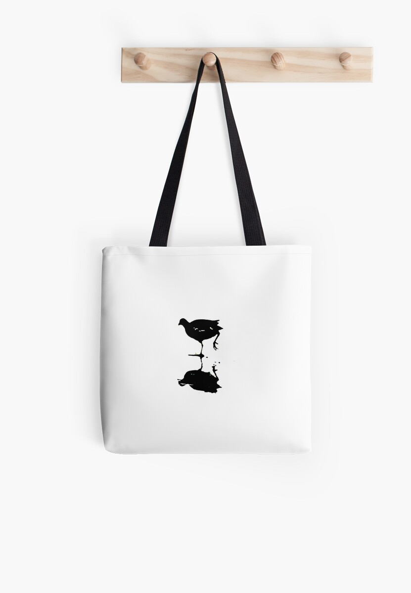 Stylized Coot artwork Waterbird Collection by derbyshireduck