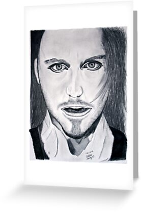 Tim Minchin Pencil Drawing by Melissa Contreras