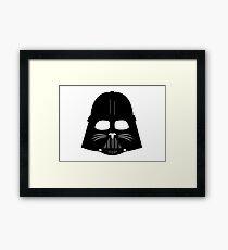Cat Vader Framed Print