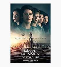 Maze Runner: The Death Cure Photographic Print