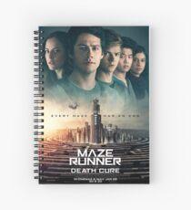 Cuaderno de espiral Maze Runner: La cura de la muerte