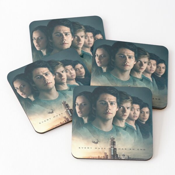 Maze Runner: The Death Cure Coasters (Set of 4)