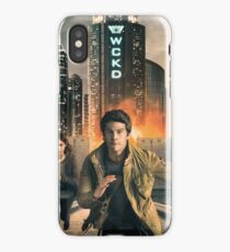 Maze Runner: The Death Cure iPhone Case/Skin