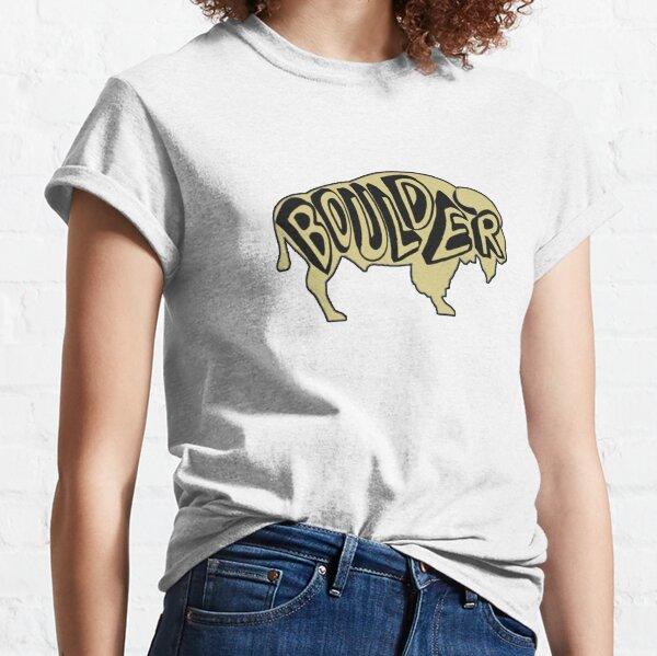 University of Colorado Boulder Buffalo Classic T-Shirt