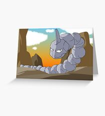 Onix Greeting Card