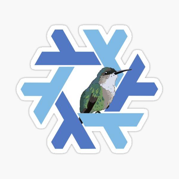 Nixos 17.09 Humming bird  Sticker