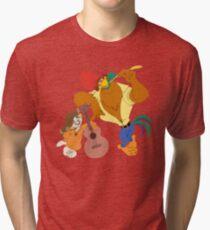 Rock-a-Doodle Tri-blend T-Shirt