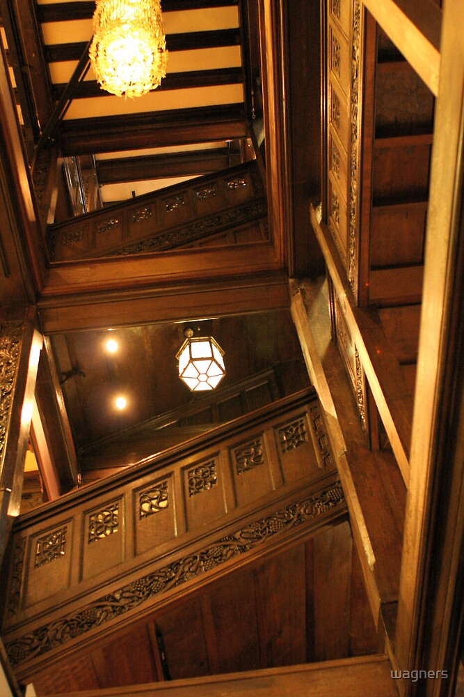 Liberty Staircase by wagners