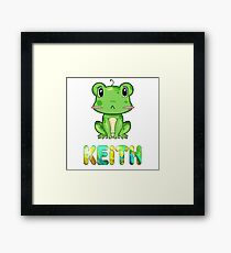 Keith Frog Framed Print
