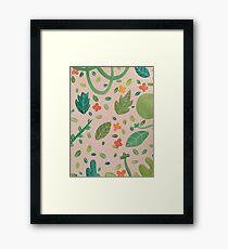 A Garden Framed Print