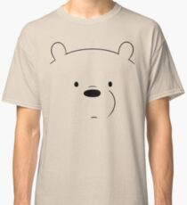 Ice bear - We bare bears Classic T-Shirt