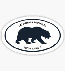 brandy melville california republic Sticker