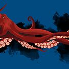 Giant Pacific Octopus by Maxwbender