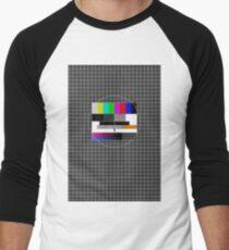 TV signal Baseball ¾ Sleeve T-Shirt