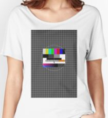 TV signal Women's Relaxed Fit T-Shirt