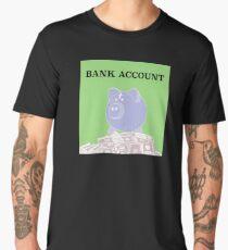Bank Account Artwork Men's Premium T-Shirt