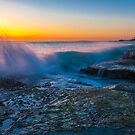 Aliso Beach Sunset by photosbyflood