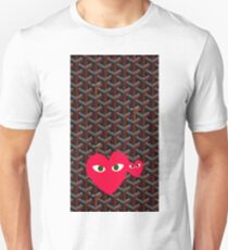 Goyard Love comme des garcons all red Play Unisex T-Shirt