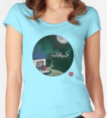Four Of Seven Women's Fitted Scoop T-Shirt