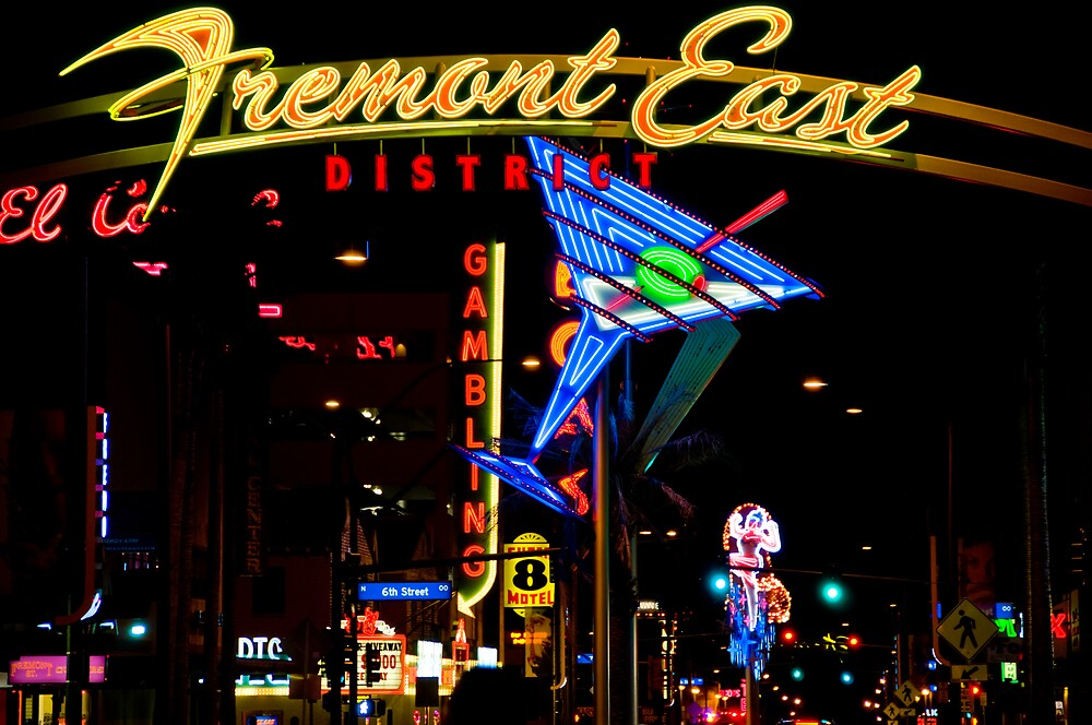 Fremont East by Bobby Deal