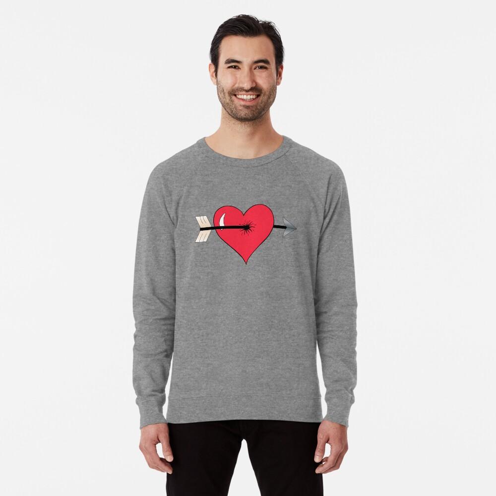 Struck by Cupid's Arrow Lightweight Sweatshirt
