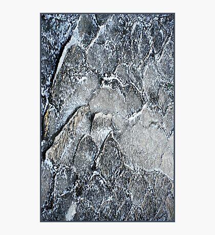 Ice layers Photographic Print
