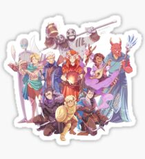 Vox Machina Sticker