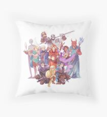 Vox Machina Throw Pillow