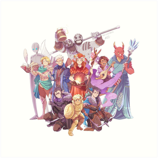 Vox Machina by mangarainbow