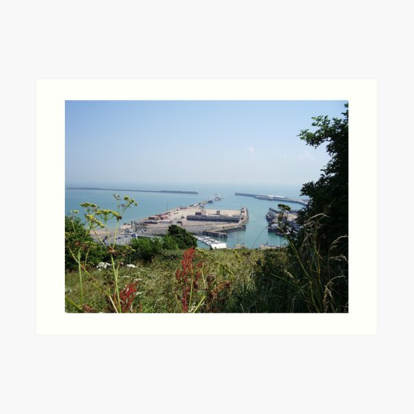 Channel view from St Martin's Battery Art Print