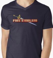 Fire Emblem (GBA) Title Screen Ver 2.0 Men's V-Neck T-Shirt