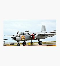 In the Mood B-25 Bomber Photographic Print