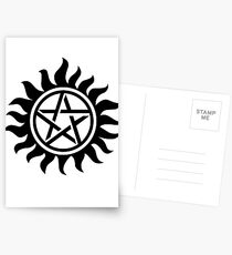 Supernatural Anti-Posession Symbol Postcards