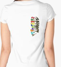 Insanity/Creativity Women's Fitted Scoop T-Shirt