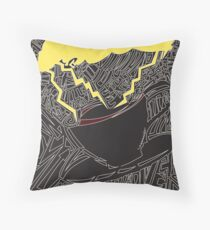 Storm In A Teacup Throw Pillow