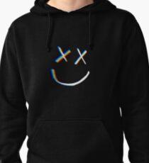 Rainbow Little X's Smile Pullover Hoodie