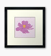 Purple Cosmo Framed Print