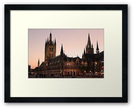 Ypres, Belgium by Night by Imladris01