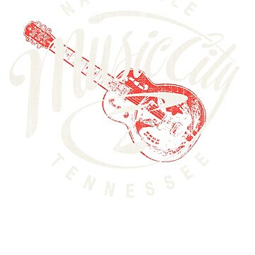 Nashville music city by CoolTees