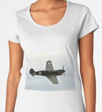 Flying Tiger Airplane P-40 Warhawk Women's Premium T-Shirt