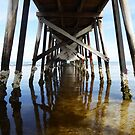 Jetty in adelaide by Bumblebeegirl