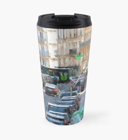 Typical Paris street view Travel Mug