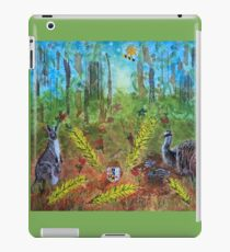 The Australian Coat of Arms Deconstructed iPad Case/Skin