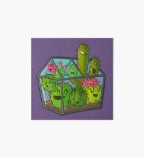 Cacti greenhouse Art Board