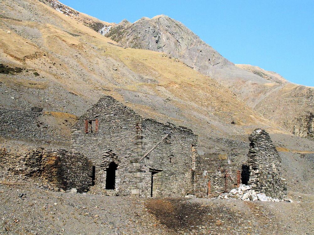 Cwmystwyth Lead Mine 2 by Martin Carr