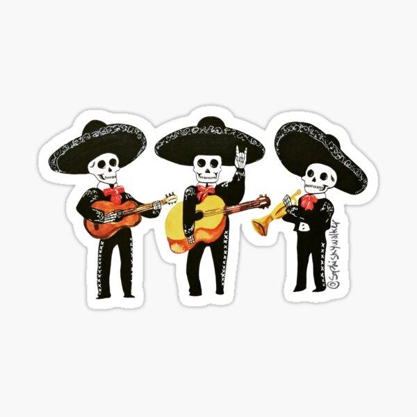 Mariachi Trio Sticker