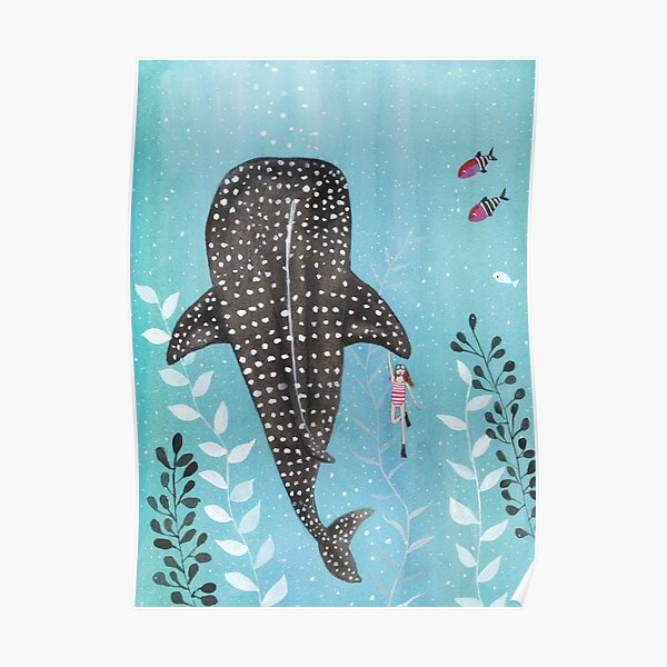 Whale shark! Poster